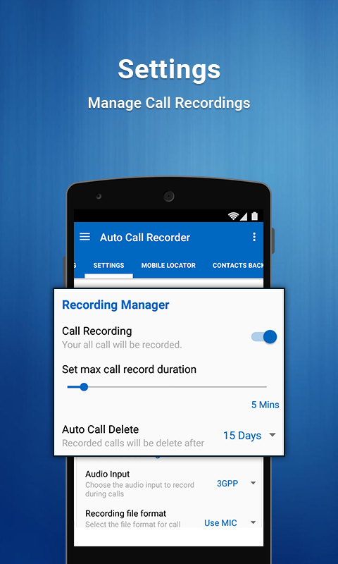 Auto Call Recoder PRO Screenshot 4