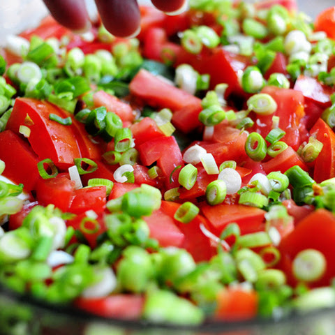 Layer Salad With Bacon And Peas