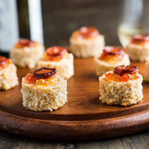 COCONUT CORNBREAD WITH LINGUIÇA