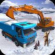 Snow Excavator Dredge Simulator - Rescue Game