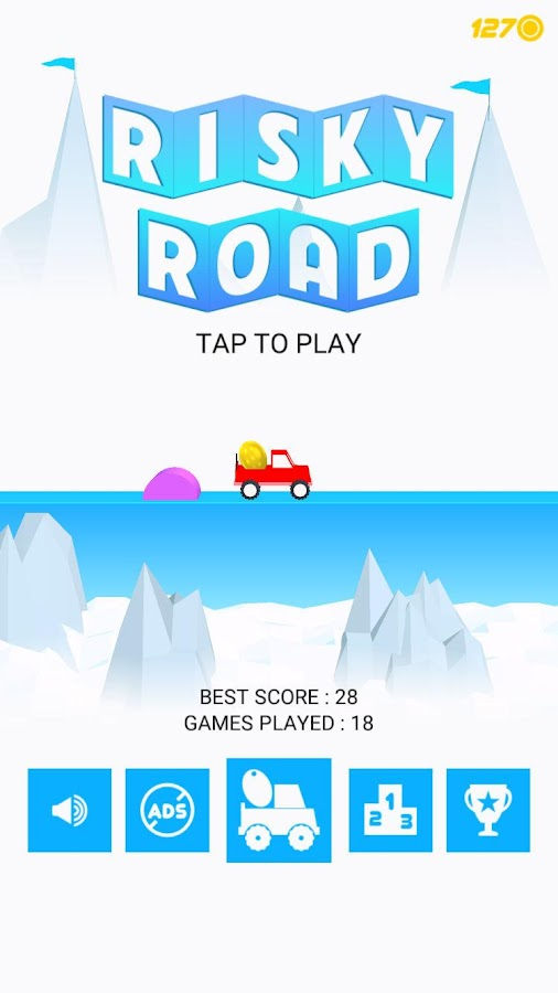 Risky Road Screenshot 0