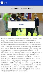All Saints CE Primary - screenshot