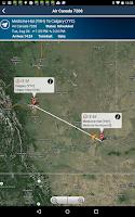 Screenshot of Calgary Airport + Radar YYC