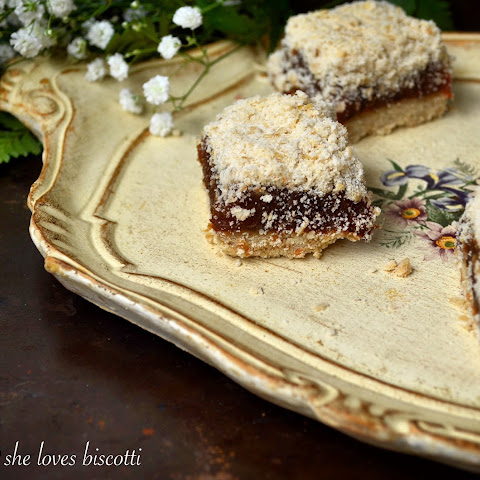 Easy Classic Date Squares #SundaySupper