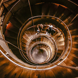 The lighthouse, Glasgow by Zion Tay Zi Yong - Buildings & Architecture Public & Historical ( spiral staircase, stairs, glasgow, lighthouse, spiral, mackintosh )
