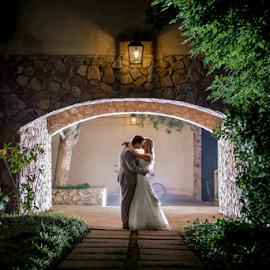 Night Kiss by Lood Goosen (LWG Photo) - Wedding Bride & Groom ( wedding photography, wedding day, weddings, wedding, bride and groom, wedding photographer, bridelgroom, bride groom )