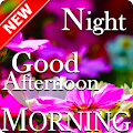 Good Morning Afteroon Evening Night Wishes Message APK for Bluestacks