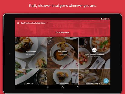 OpenTable: Restaurants Near Me APK for Bluestacks