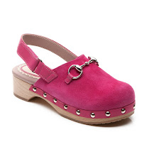 Gucci Studded Suede Clog CLOG
