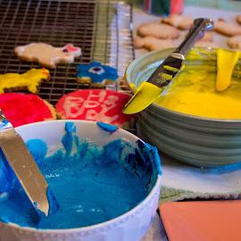Spring Cookies by Michael Anderson - Food & Drink Cooking & Baking ( frosting, cooking, baking, cookies, spring )