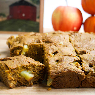 Apple Pumpkin Snack Cake