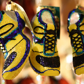 Sneaker Ornaments  by Lorraine D.  Heaney - Artistic Objects Other Objects