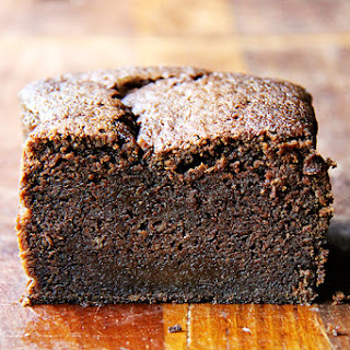 Nigella Lawson's Dense Chocolate Loaf Cake with Brandy and Coffee