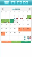 Screenshot of Ovulation & Period Calendar