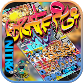 App Graffiti Wall Keyboard theme APK for Windows Phone