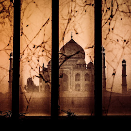 by Sanjay Sahu  - Buildings & Architecture Statues & Monuments ( #beauty of india #indian beauty #indian people photography #amazing taj mahal #amazing frame )