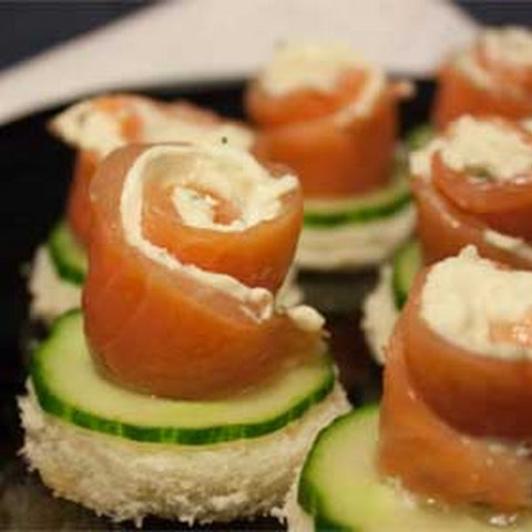 10 best cream cheese canapes recipes yummly for Smoked salmon cream cheese canape