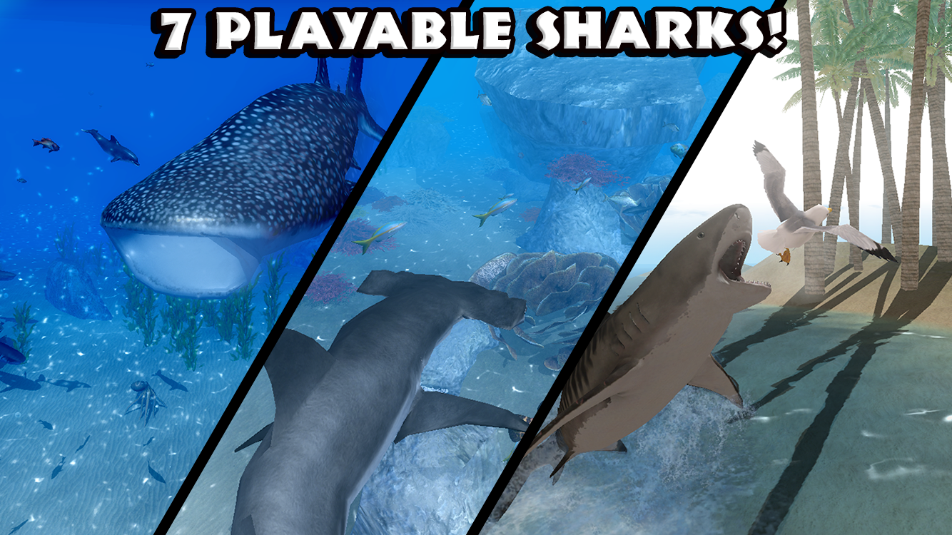 Ultimate Shark Simulator Screenshot 2