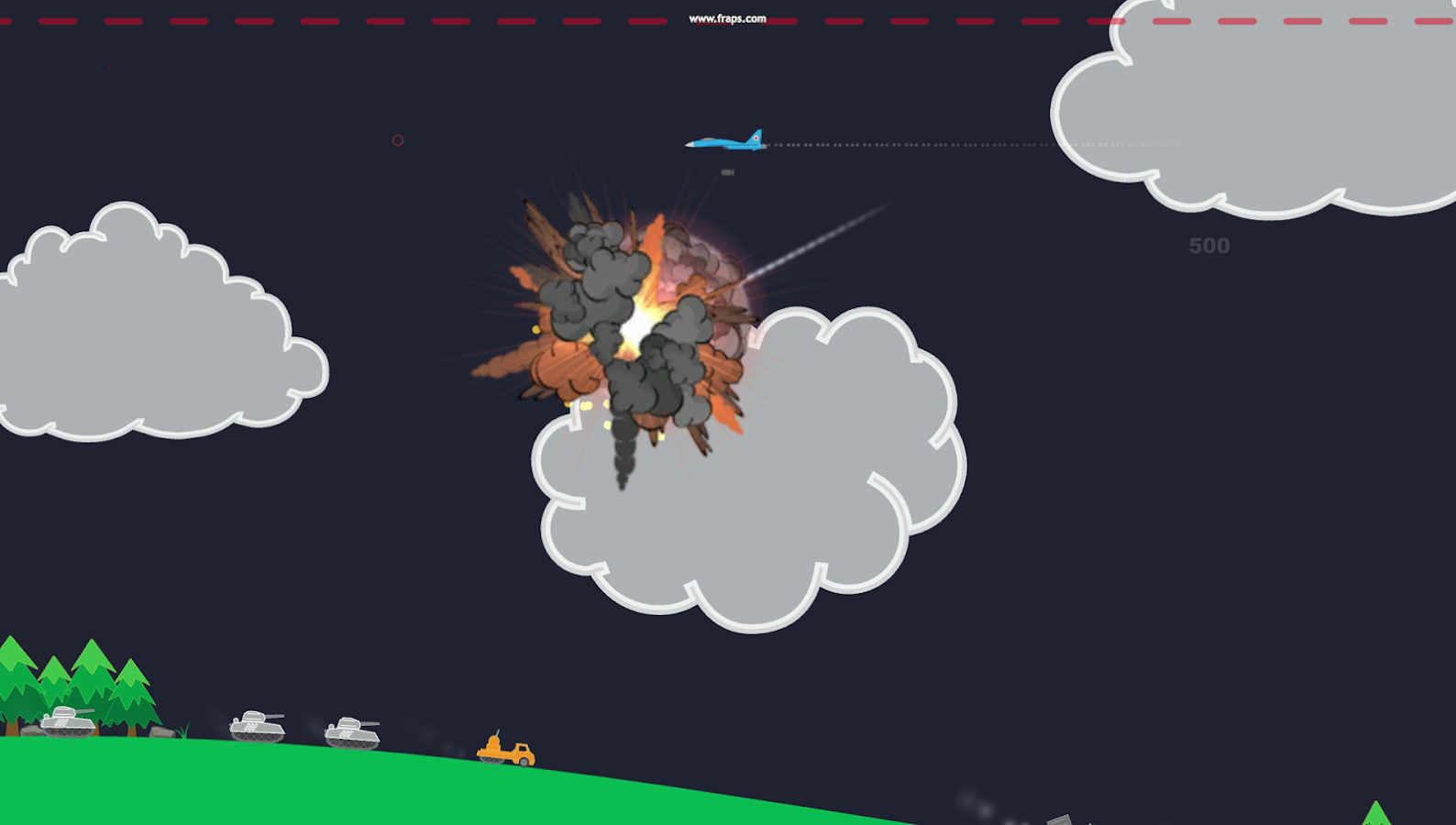 Atomic Fighter Bomber Pro Screenshot 1
