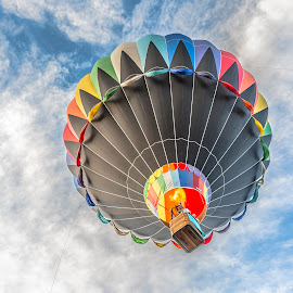 Heading Up by Thomas Dilworth - Transportation Other ( hot air balloon, sky, colorful, colorado, festival )