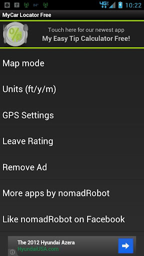 MyCar Locator Free screenshot 4