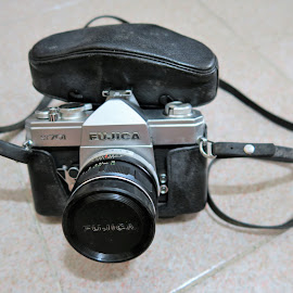 My First SLR Camera  by Dennis  Ng - Artistic Objects Antiques (  )