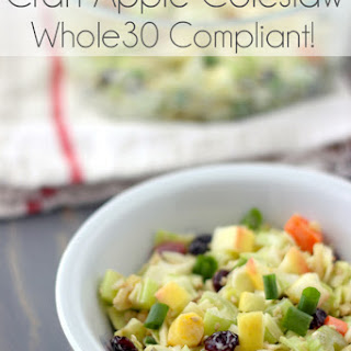 Cran-Apple Coleslaw (Whole30 Compliant!)