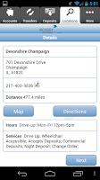Screenshot of HPB Mobile