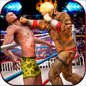 Download Full World Ghost Wrestling Revolution 1.0 APK