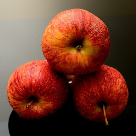 Apple by Sanjeev Kumar - Food & Drink Fruits & Vegetables