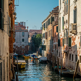 by Mario Horvat - Buildings & Architecture Homes ( venice, italia, historic, venezia, canal, travel, benetke, popular, italy, architecture, touristic )