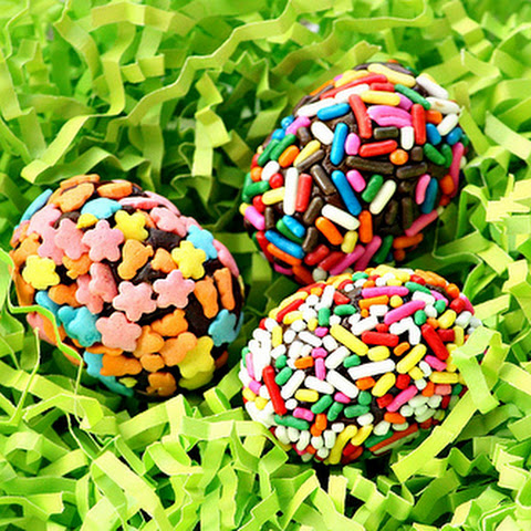 Egg-Shaped Brigadeiros (Brazilian Chocolate Candies)