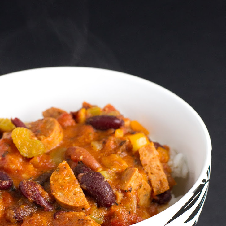 Red Beans and Rice (with Andouille Chicken Sausage)