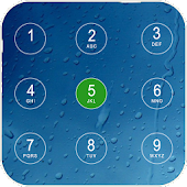 Water Drops Slider Lock APK for Bluestacks