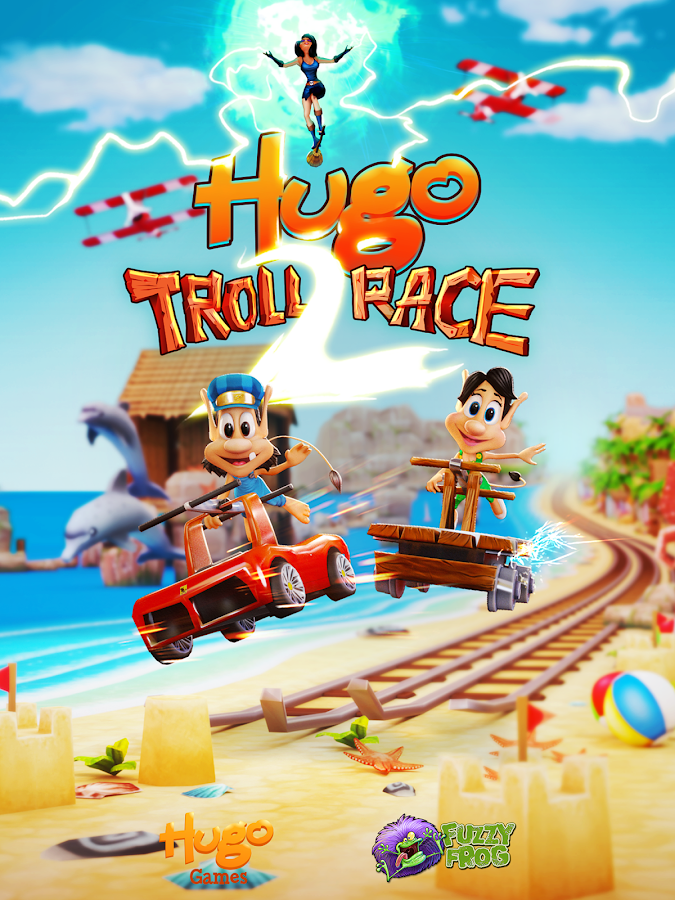 Hugo Troll Race 2. Screenshot 10