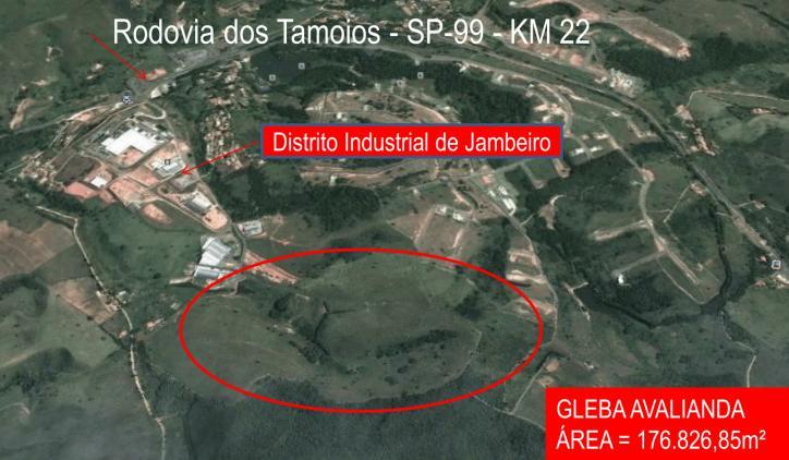 Jambeiro SP - Terreno à venda