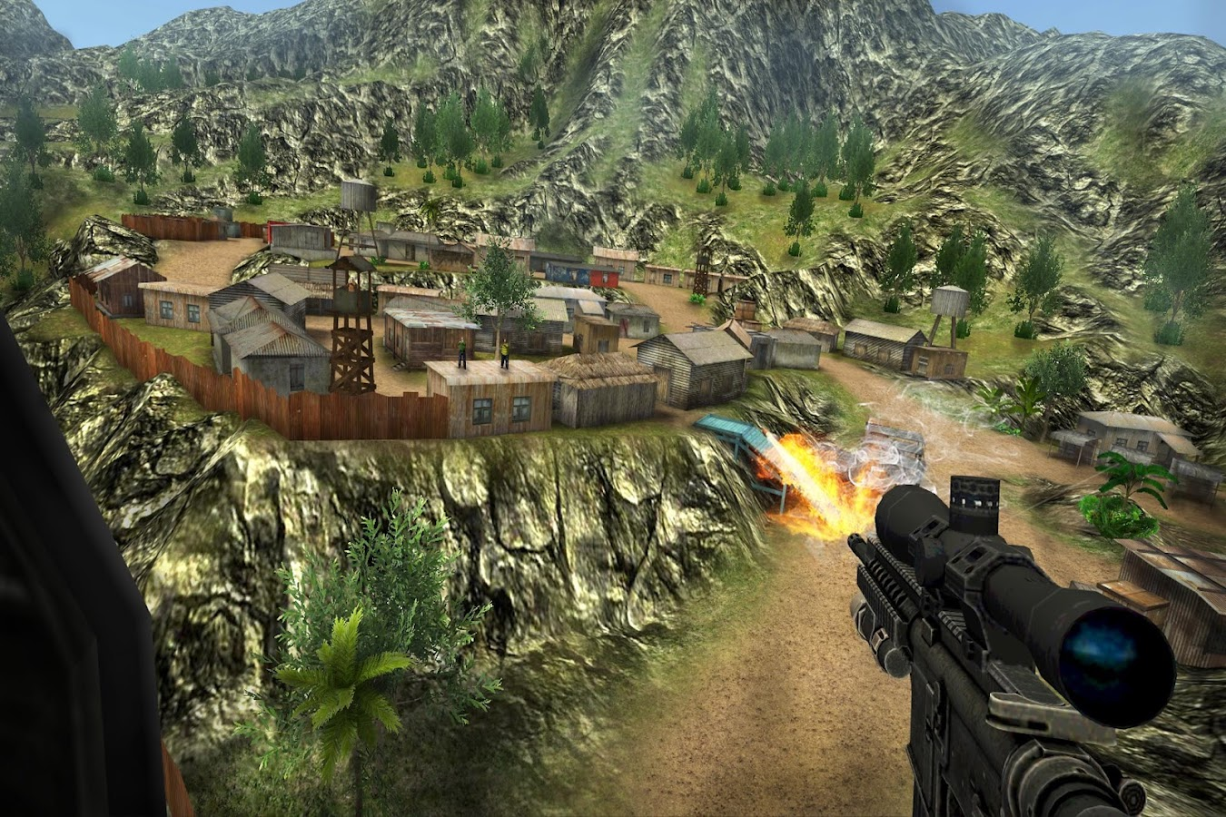 Sniper Ops - 3D Shooting Game Screenshot 10
