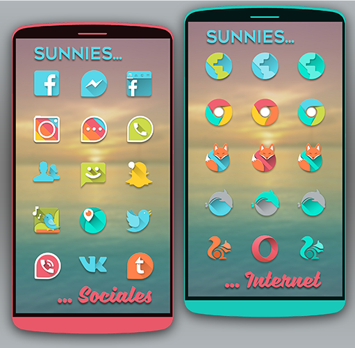 Sunnies Icon pack Screenshot 1