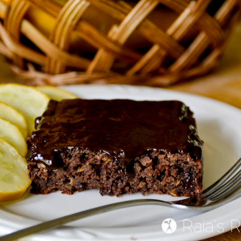 Summer Squash Chocolate Sheet Cake