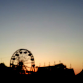 Nights of Our Lives by Elinor Morris - City,  Street & Park  Amusement Parks
