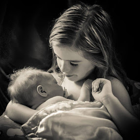 Sisters by Janice Poole - Babies & Children Children Candids (  )