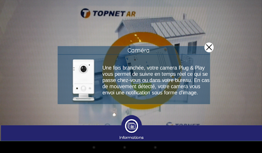 TopnetAR - screenshot