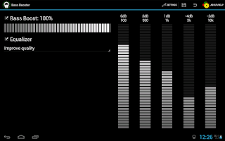 Screenshot of Bass Booster