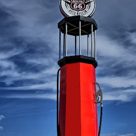 Route 66 by Ray Ebersole - Buildings & Architecture Statues & Monuments