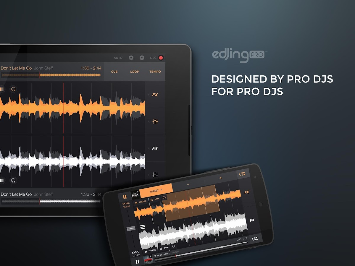 edjing PRO - Music DJ mixer Screenshot 5