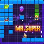 Mr Super Fish: Star Hero Fill Build Blocks Icon