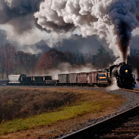 She'll Be Coming Round The Corner by Donna Neal - Transportation Other