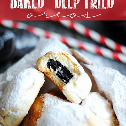 "Baked ""Deep Fried"" Oreos"