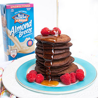 Double Chocolate Brownie Pancakes