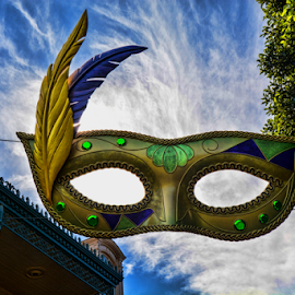 New Orleans Square 2 by Tom Anderson - Buildings & Architecture Other Exteriors ( anaheim, february 2016, california, disneyland, disney california adventure )